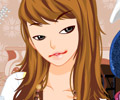 A Maquiagem da Garota de Olhos Castanhos