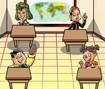 Ajudar o Professor Girafales na Escolinha do Chaves