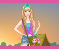 Barbie Princess Camping Dress Up