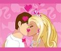 Beijando a Barbie Noiva