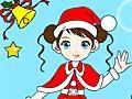 Colorir a Mamãe Noel