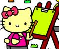Colorir com Hello Kitty