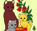 Colorir os Gatos
