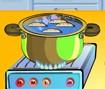 Cozinhando Pães Enrolados