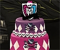 Decore o Bolo dos Monster High
