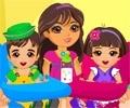 Dora Twins Baby Sitter