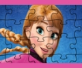 Frozen Anna Jigsaw