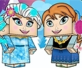 Frozen Minecraft Dressup Edition