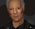 Morgan Freeman Dress Up