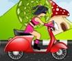 Pilotar a Moto e Pegar Muitas Moedas