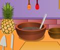 Pineapple chocolate