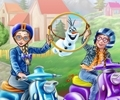 Princess Scooter Ride