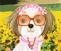 Puppy in the Field Dress Up