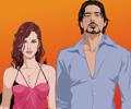 Scarlett Johansson e Robert Downey Jr.