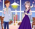 Valentines romantic date