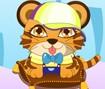 Vestir o Bebê Tigre