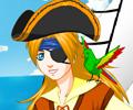 Vista a Garota Pirata